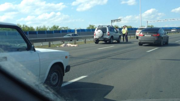 На трассе Уфа-Аэропорт сбили пешехода