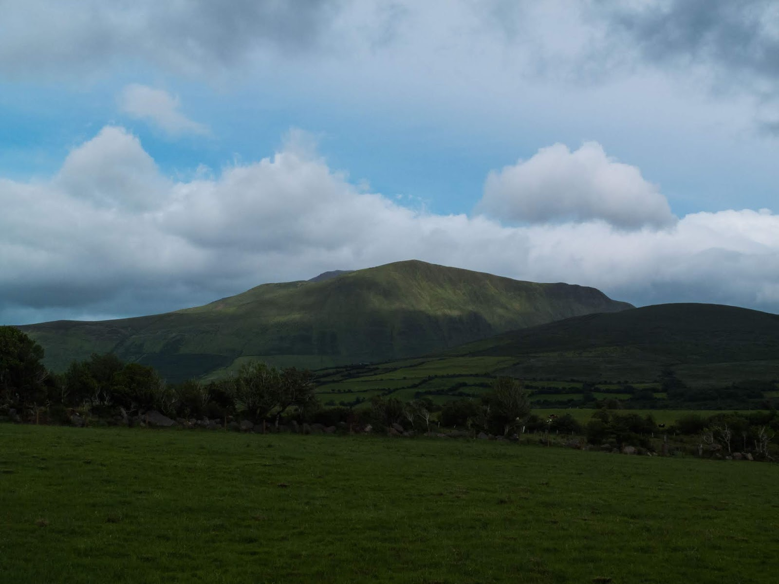 Mountain landscape on the Dingle Peninsula, County Kerry.