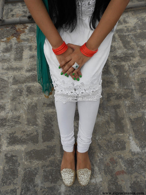 Independence Day Inspired OOTD: Hindi Blog