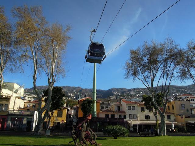 kolejka linowa Funchal