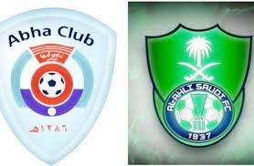 مباراة الأهلي السعودي وأبها بين ماتش مباشر  19-1-2021 والقنوات الناقلة في الدوري السعودي