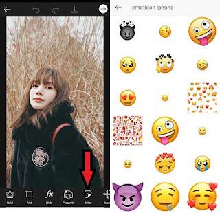 Cara membuat emoji transparan di Instagram story