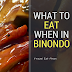 What to Eat When In Binondo