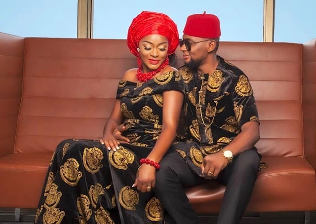'Birthday Blessings To My Baby Tino' - Chacha Eke Celebrates Husband, Faani On His Birthday