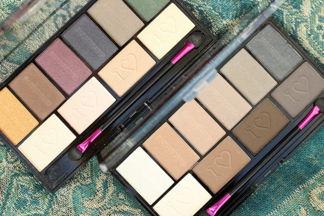 Limited Edition Makeup Revolution palettes