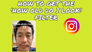 How old do i look instagram filter, Filter to find out your age on Instagram