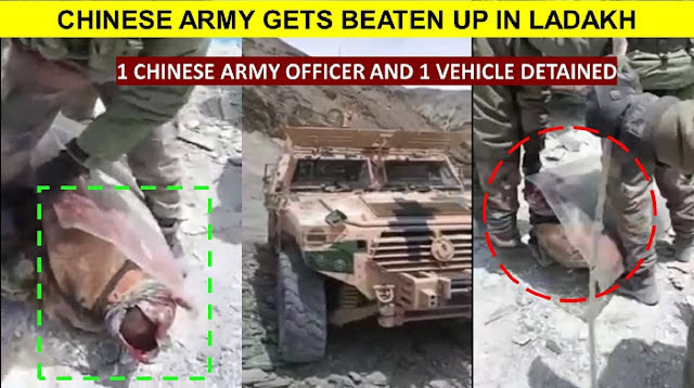 VIRAL: Video Pasukan India Pukuli Kepala Tentara China Sampai Pecah