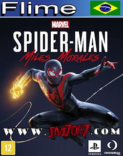 Spider-Man Miles Morales o Filme capa