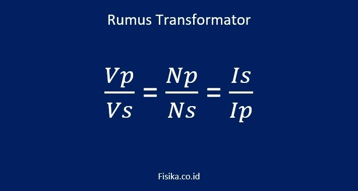 Rumus Transformator