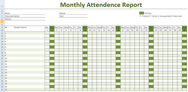 Get printable calendar 2016 employee attendance calendar printable 2016 attendance calendar printable pronofoot35fo Image collections