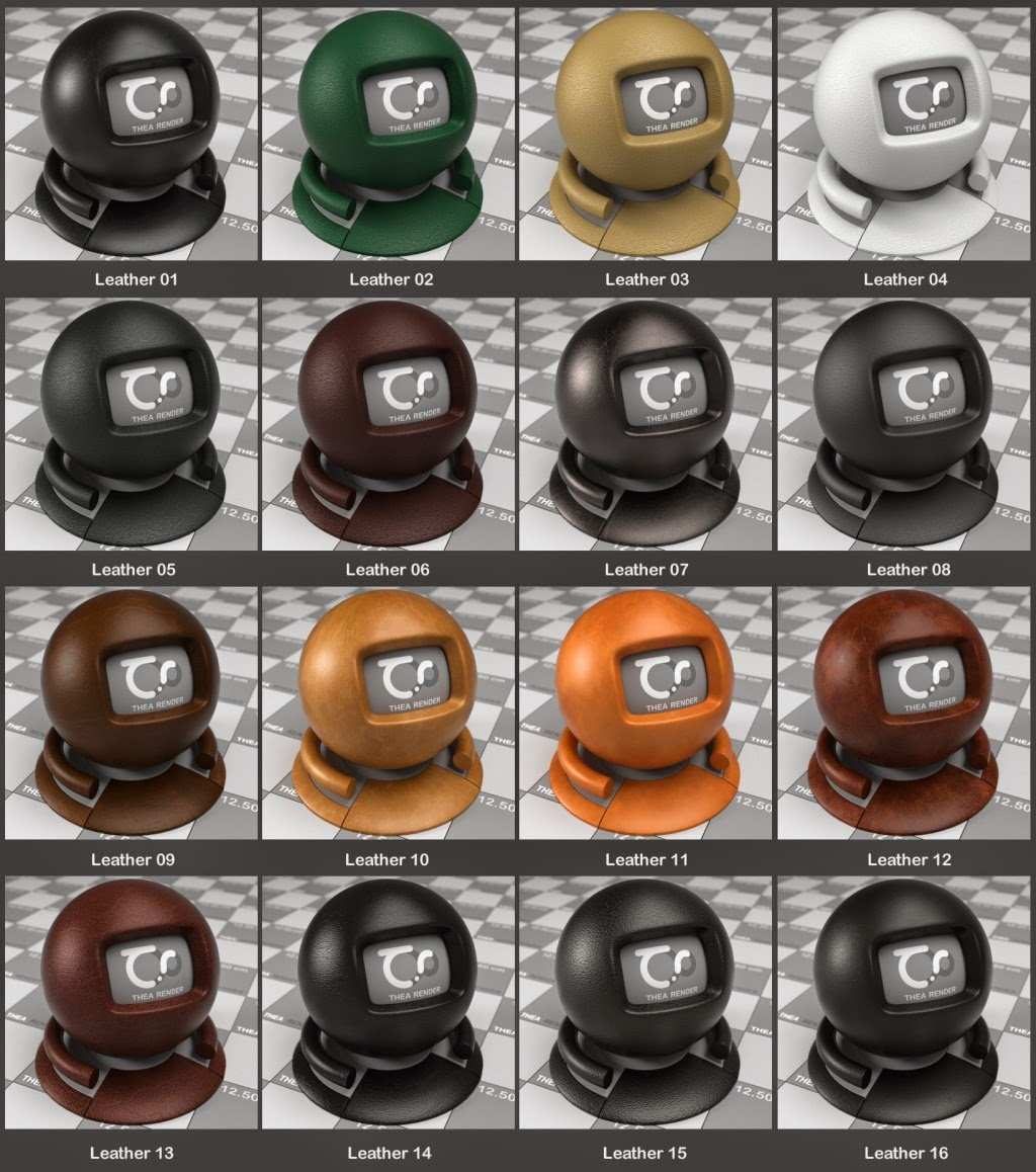 Thea Render Material Pack 12GB MASSIVE | 4render the best