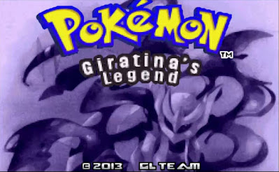 Pokemon Giratina Legend para GBA Imagen Portada