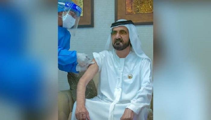 Emir Dubai Disuntik Vaksin Covid-19 Buatan Cina