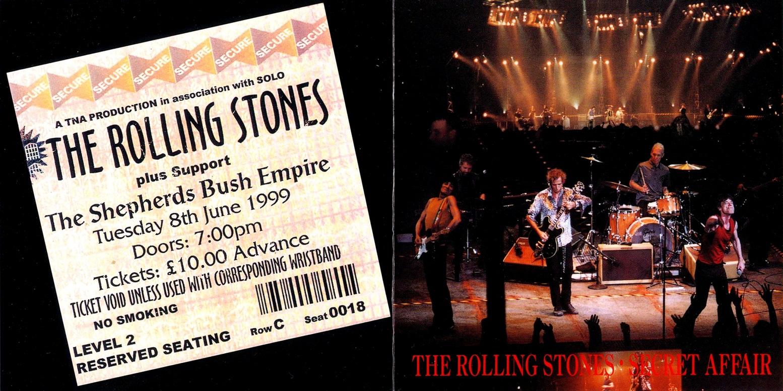 T U B E : The Rolling Stones - 1999-06-08 - London, UK (AUD