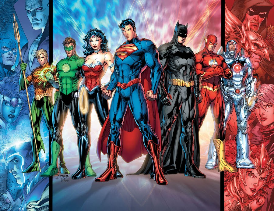 justice league new 52 dc comics