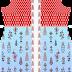 Traditionall Textile Digital Print Suit Kurti Design - Front 2690