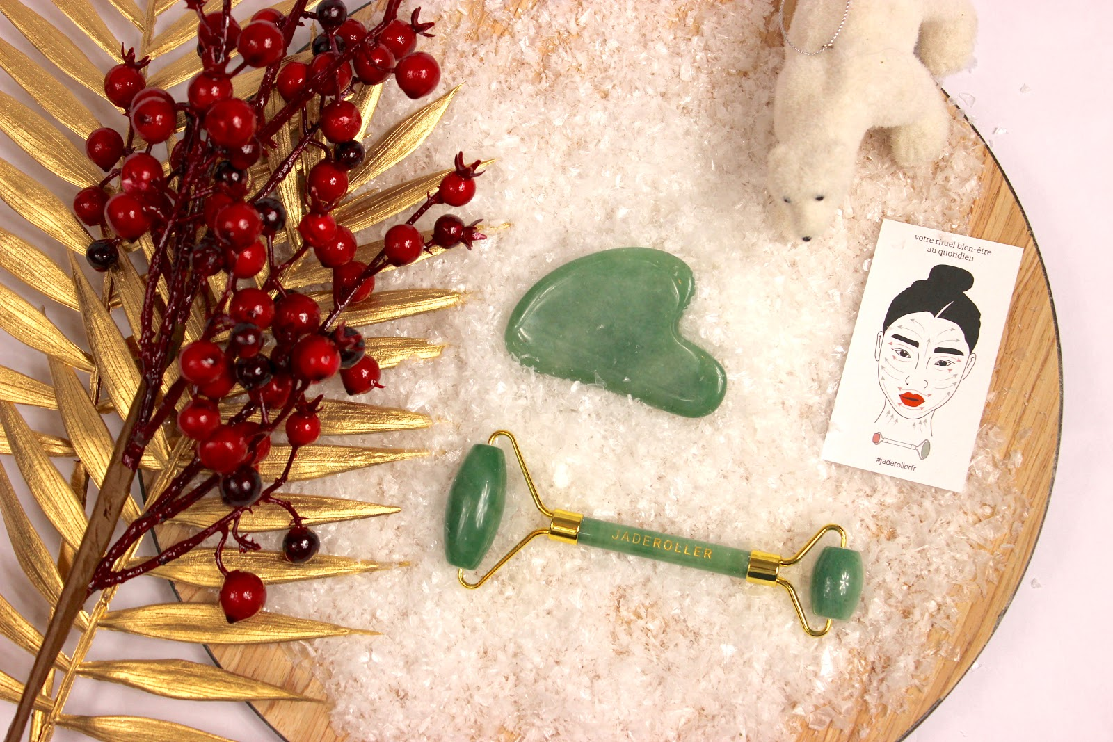 rouleau de jade, jade roller, rituel beauté, les petites bulles de ma vie