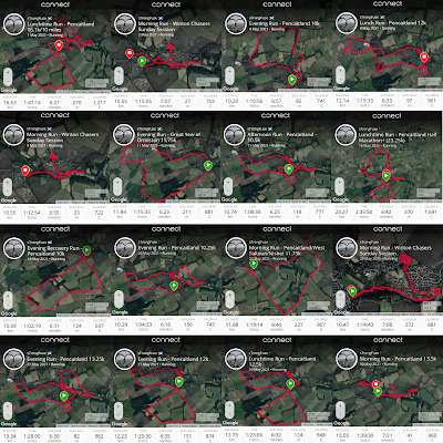 Collage of Running Maps