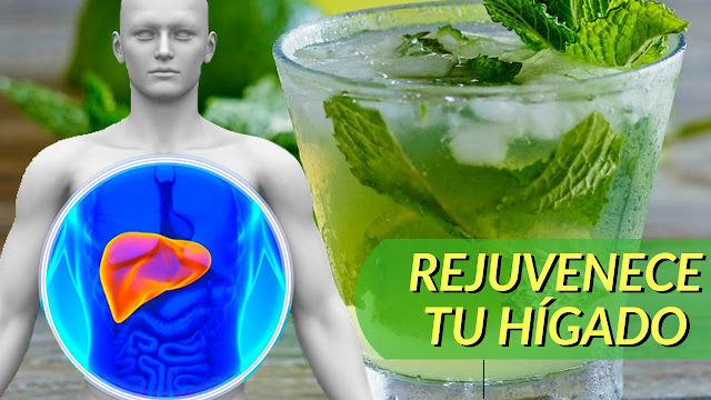 Bebida a base de Menta para Mejorar la Función Hepática - Limpieza de Hígado