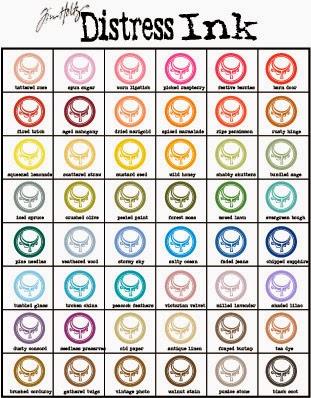 distress ink color chart - Kopeimpulsar