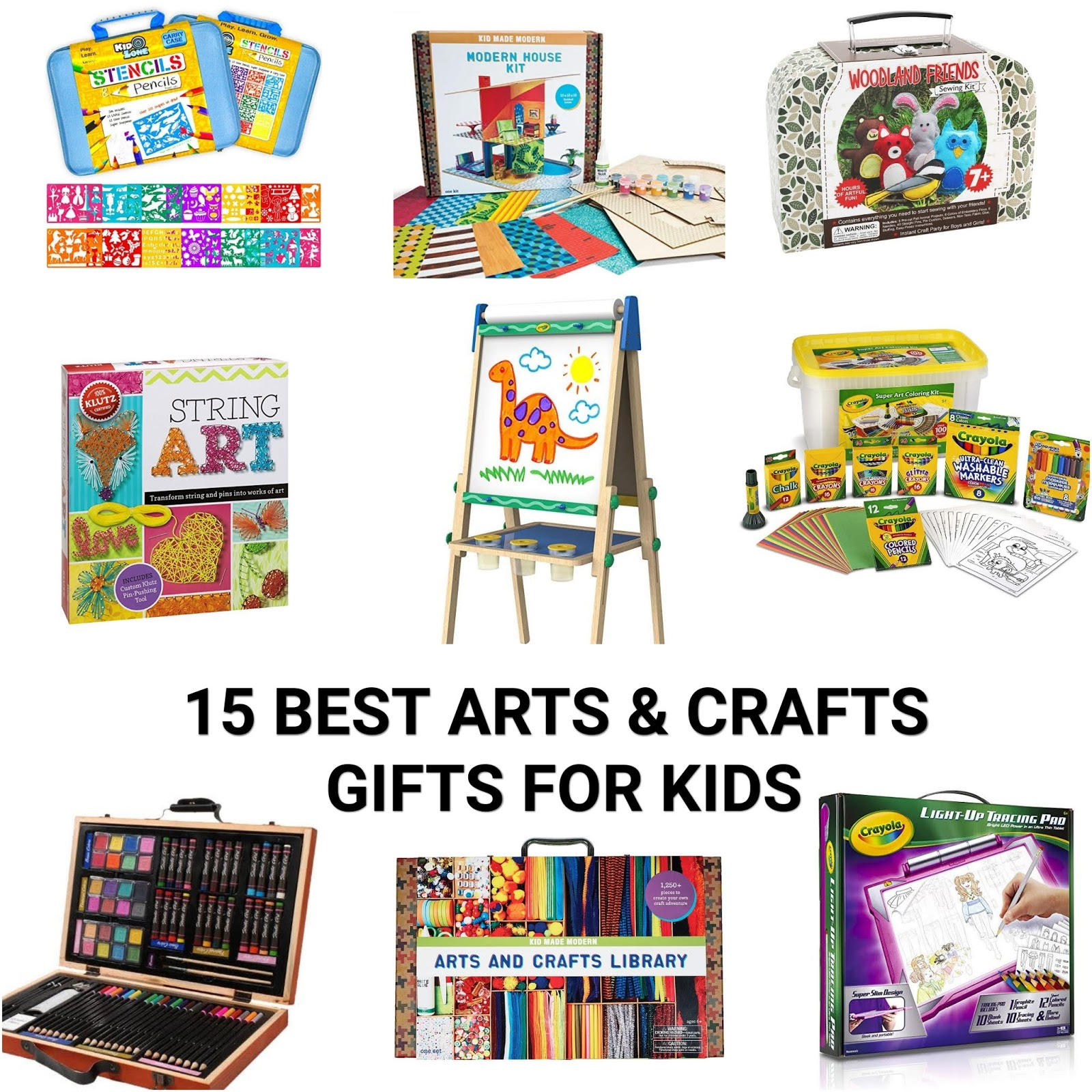 Holiday Gift Guide, 2018 Best holiday gift, Arts and Crafts Gift Guide for Kids, Christmas Gift Guide for Kids, Best gifts for kids, Best birthday Gifts for Kid artist