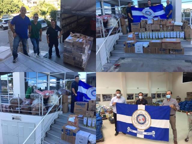 Μεγάλη ανταπόκριση των αστυνομικών της Αργολίδας για την προσφορά αγάπης στους πλημμυροπαθείς της Καρδίτσας
