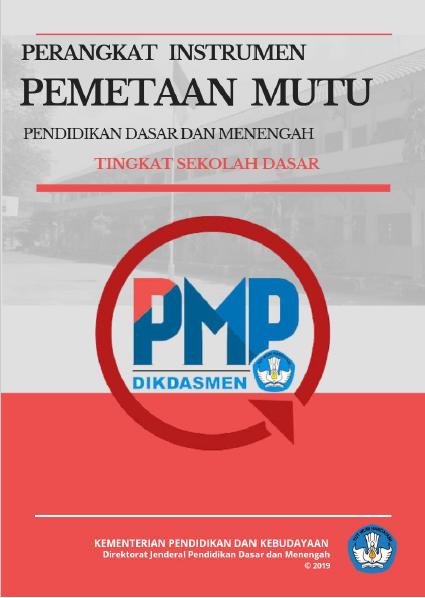 Instrumen PMP Tahun 2019 Jenjang SD
