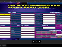 Gratis Aplikasi PSB- PPDB format Excel
