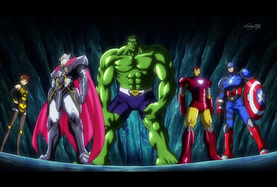 Marvel Disk Wars: The Avengers
