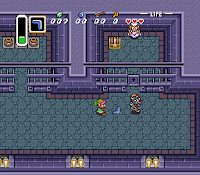Here is #Link's debut in saving #Zelda from #Ganon on #SuperNintendo! #SNES