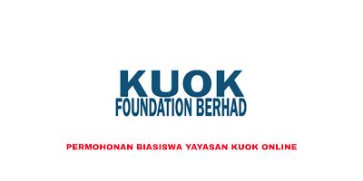 Permohonan Biasiswa Yayasan Kuok 2020 Online (Borang)