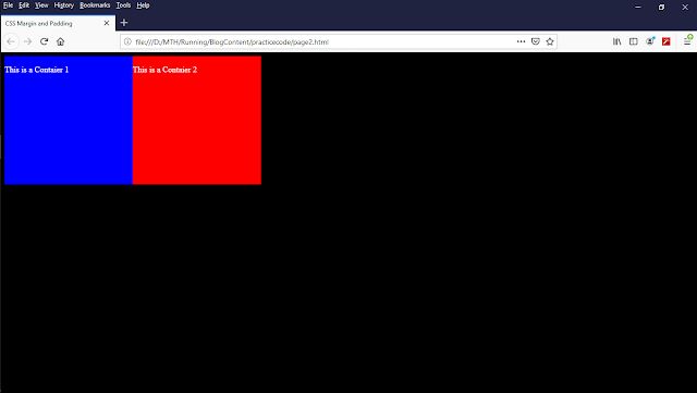 Result screen shot of above code