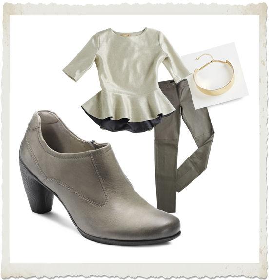 outfit con stivaletto ECCO