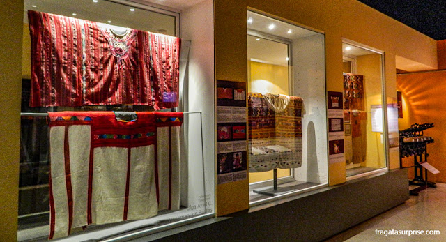 Trajes típicos da Guatemala  o Museu Ixchel do Traje Indígena, na Cidade da Guatemala