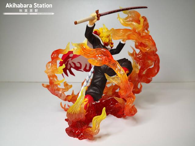 Review de Figuarts ZERO Kyojuro Rengoku - Flame Breathing - Tamashii Nations.