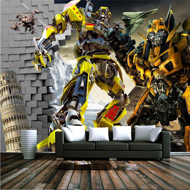Transformers Wall Murals Teen Room