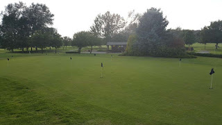 Putting Green at the Belton Woods Hotel in Grantham
