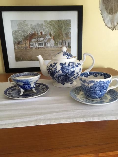 Spode Blue Room Teacups