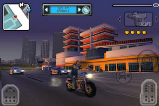 Gangstar: Miami Vindication iPhone game optimized for iPhone 4