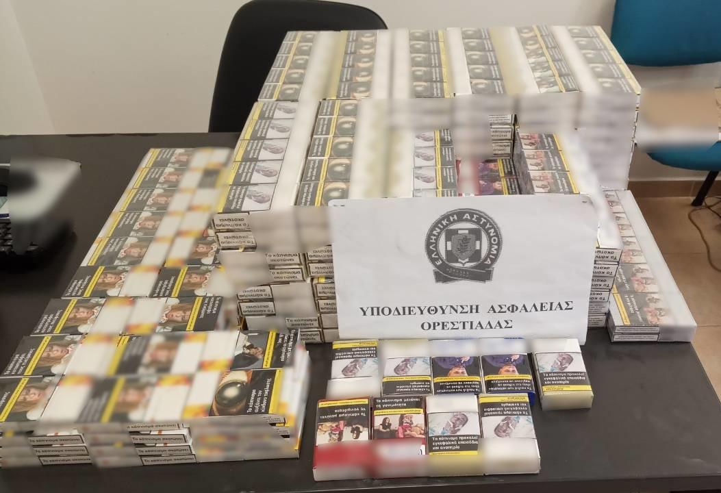 Ορεστιάδα: Η Αστυνομία ξετρύπωσε 500 πακέτα λαθραίων τσιγάρων
