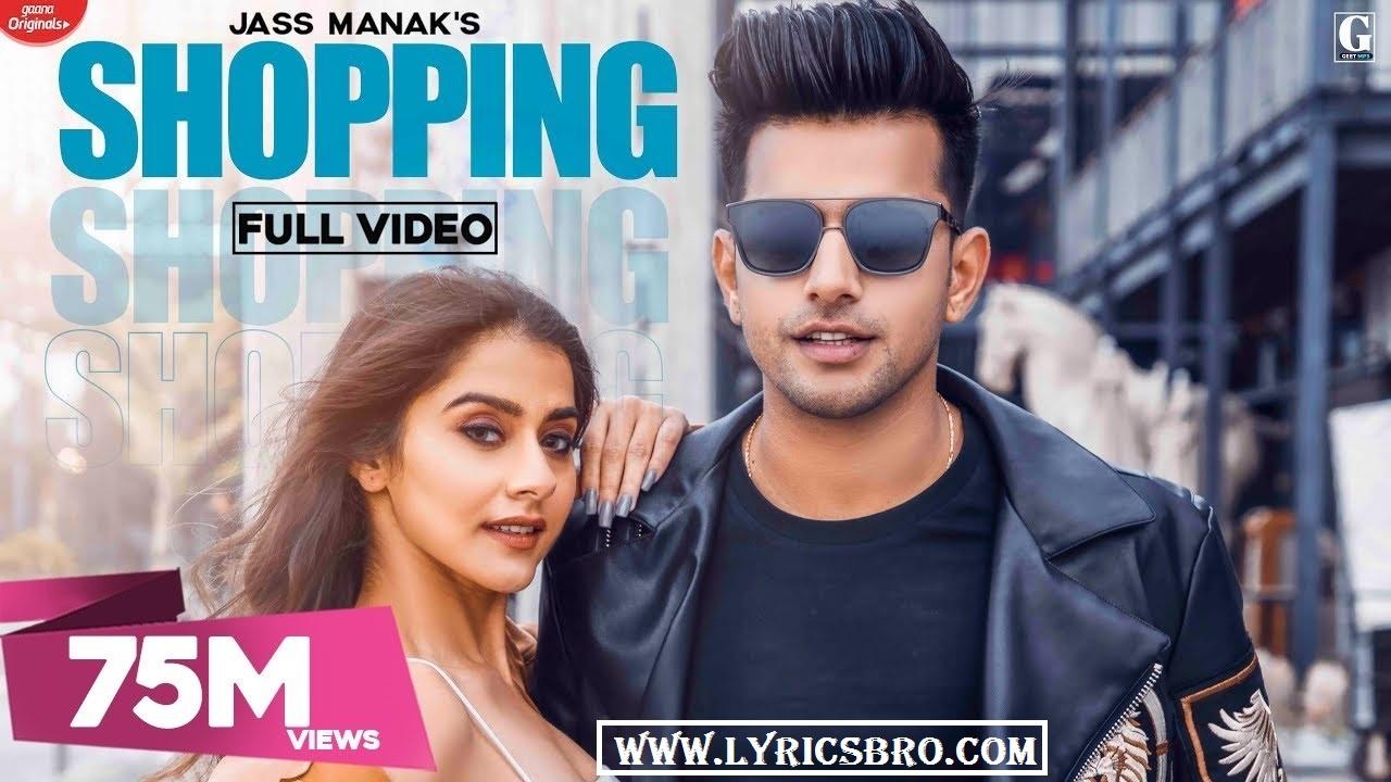 shopping-song-lyrics-in-hindi-jass-manak