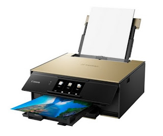 ink organisation alongside novel Photo Blue ink for alternative photograph printing Canon PIXMA TS9170 Drivers Download, Review And Price