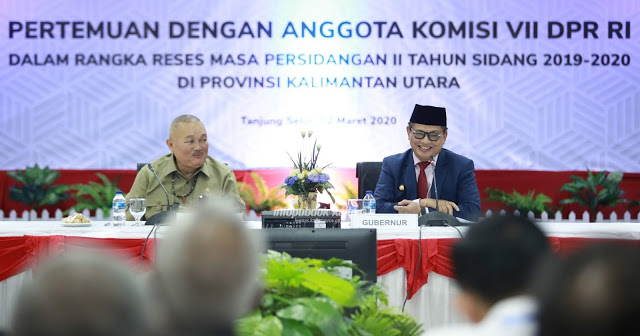 Gubernur Irianto Desak Komisi VII Turut Membantu