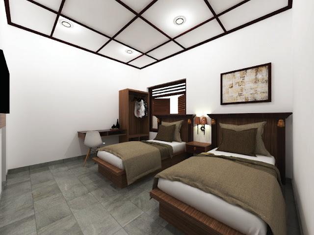 Desain interior kamar homestay oleh jasa interior, doc pribadi