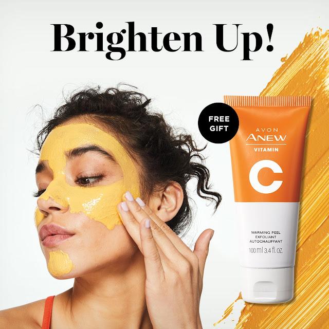 avon catalog vitamin c warming peel
