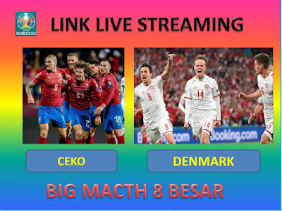 Link Live Streaming Euro 2020 REPUBLIK CEKO VS DENMARK Berlangsung Di Stadion Olimpiade Baku