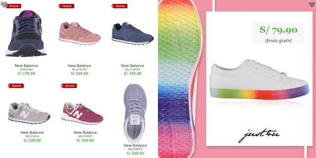 zapatos platanitos de colores