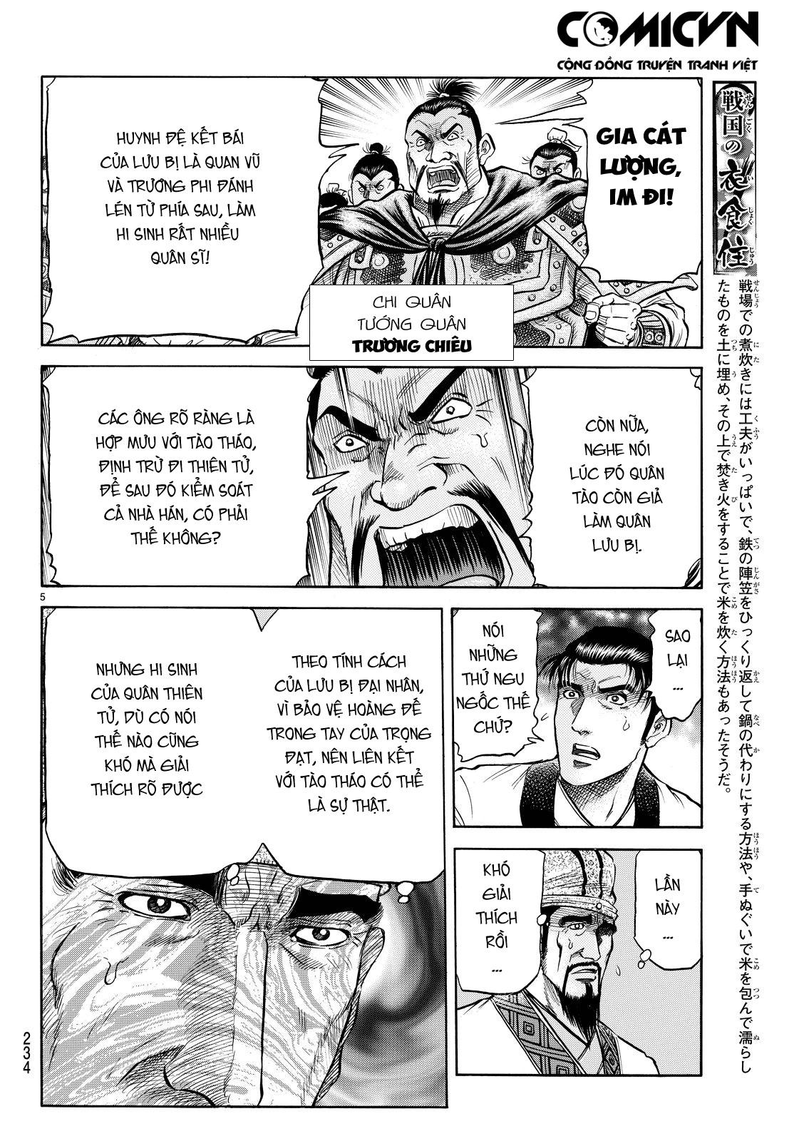 Chú Bé Rồng - Ryuuroden chap 266 - Trang 5