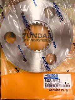 Phụ tùng máy xúc Hyundai