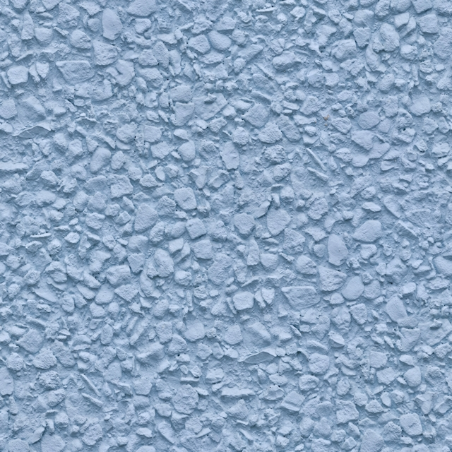 Seamless blue painted stucco wall texture